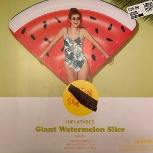 Sun Squad- Inflatable Giant Watermelon Slice